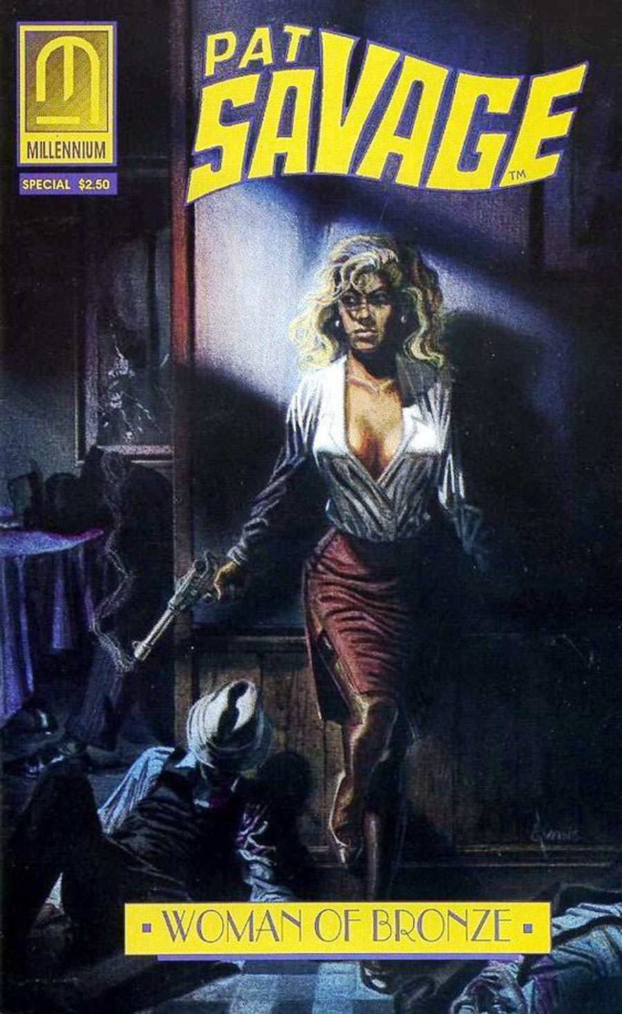 Pat Savage The Woman Of Bronze Family Blood Special