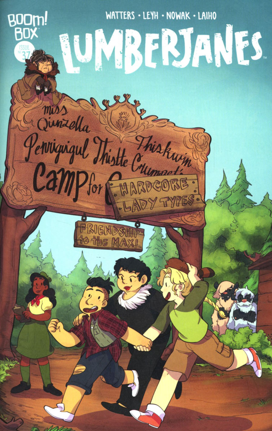 Lumberjanes #37 Cover B Variant Ayme Sotuyo Subscription Cover
