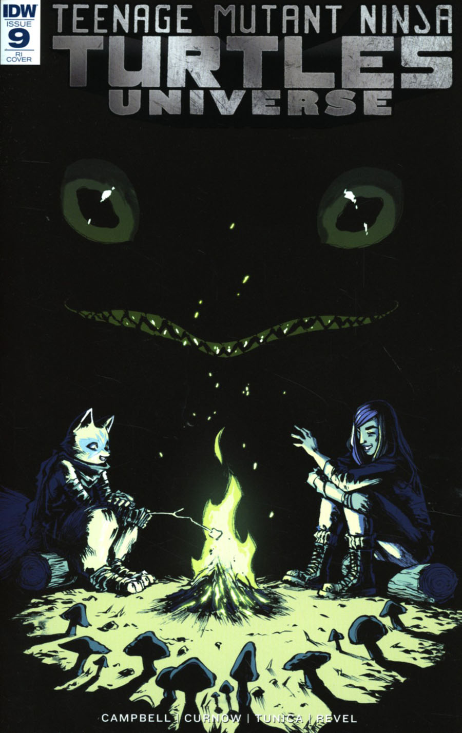 Teenage Mutant Ninja Turtles Universe #9 Cover C Incentive Sophie Campbell Variant Cover