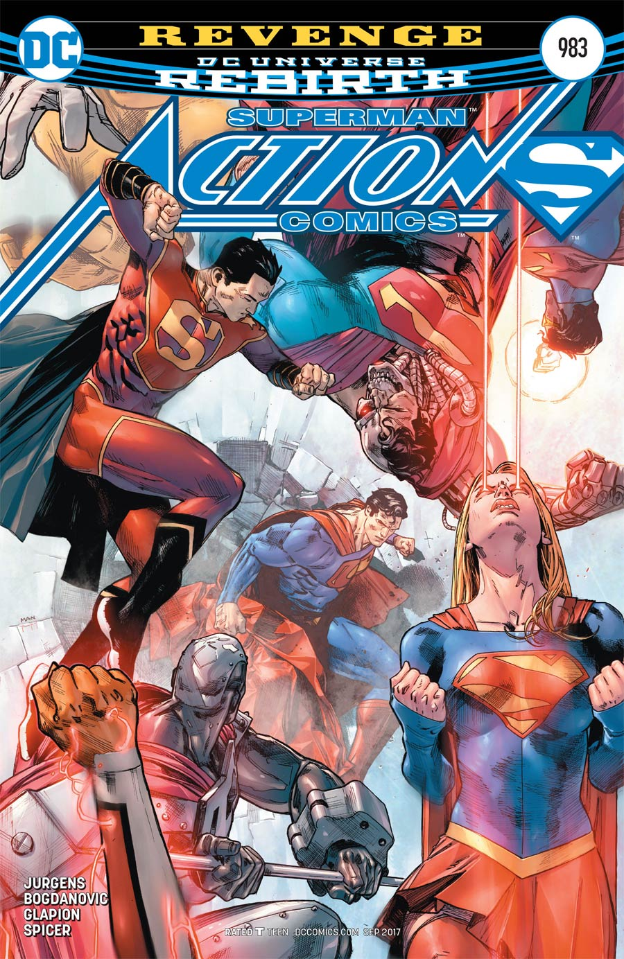 Action Comics Vol 2 #983 Cover A Regular Clay Mann Cover
