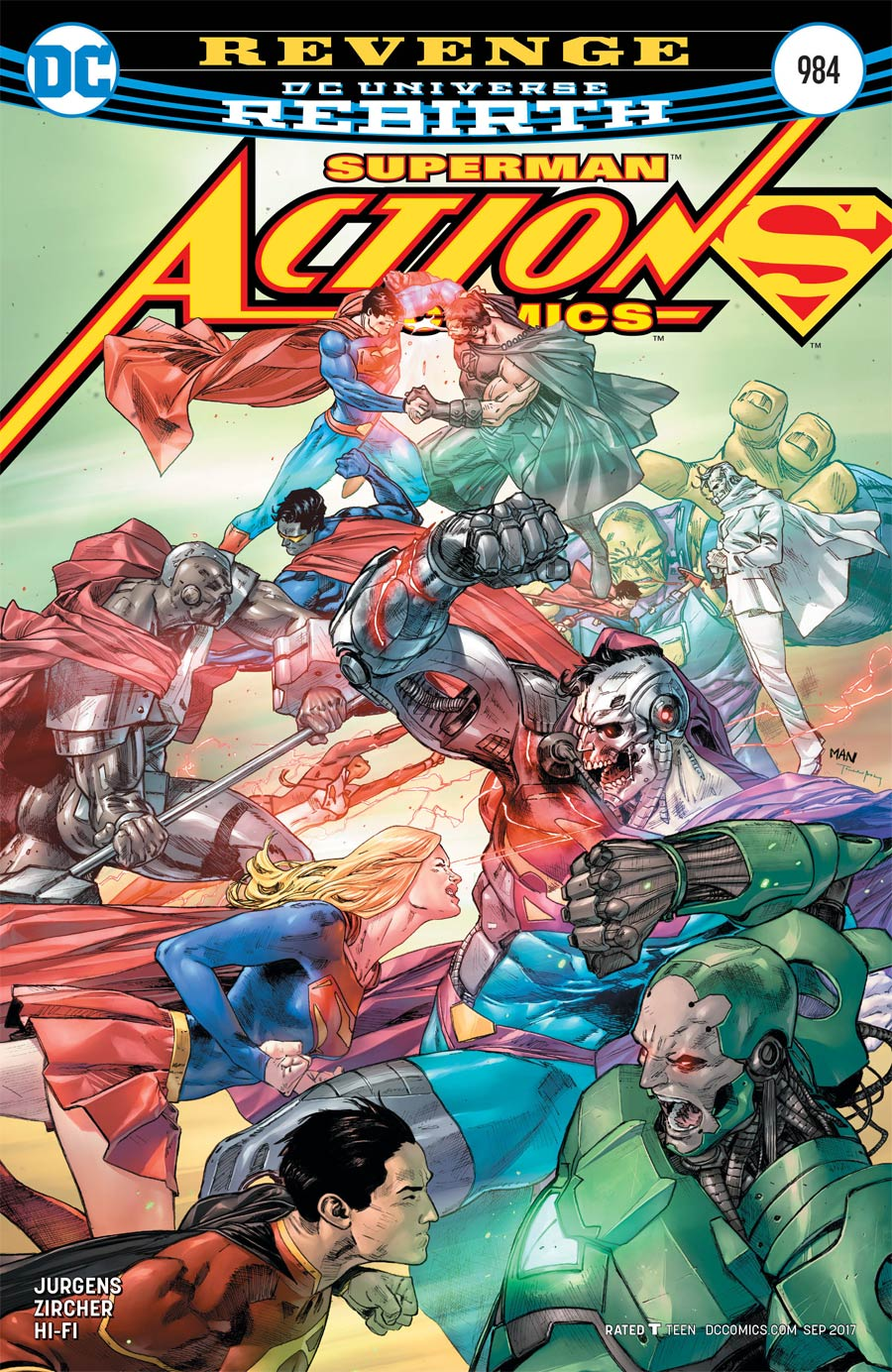 Action Comics Vol 2 #984 Cover A Regular Clay Mann Cover