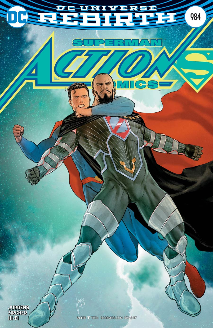 Action Comics Vol 2 #984 Cover B Variant Mikel Janin Cover