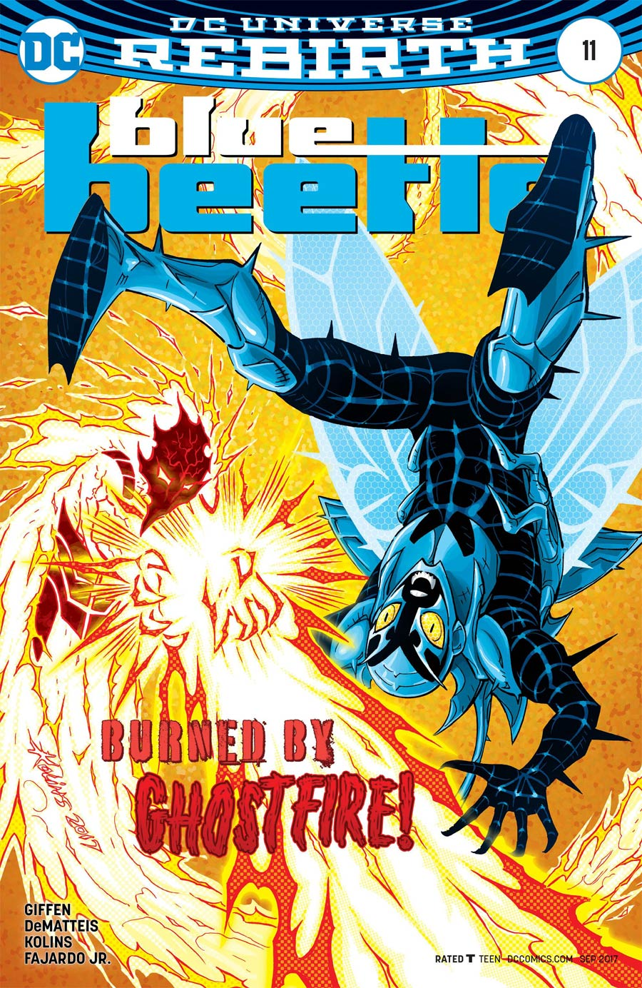 Blue Beetle (DC) Vol 4 #11 Cover A Regular Scott Kolins Cover
