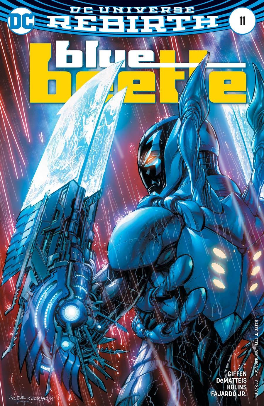 Blue Beetle (DC) Vol 4 #11 Cover B Variant Tyler Kirkham Cover