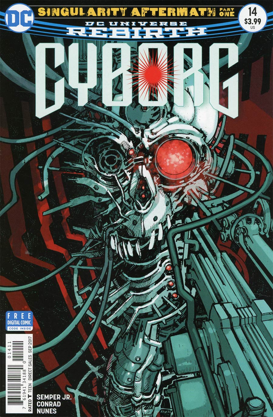 Cyborg Vol 2 #14 Cover A Regular Eric Canete Cover