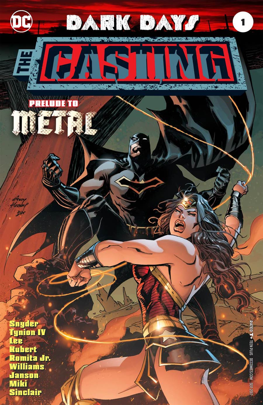 Dark Days The Casting #1 Cover B Variant Andy Kubert Cover