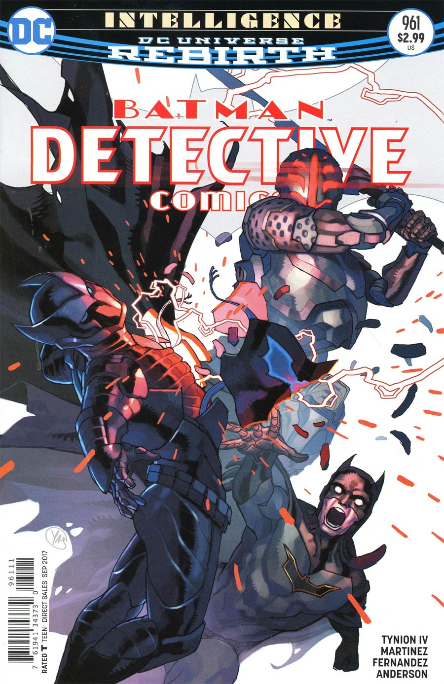 Detective Comics Vol 2 #961 Cover A Regular Yasmine Putri Cover
