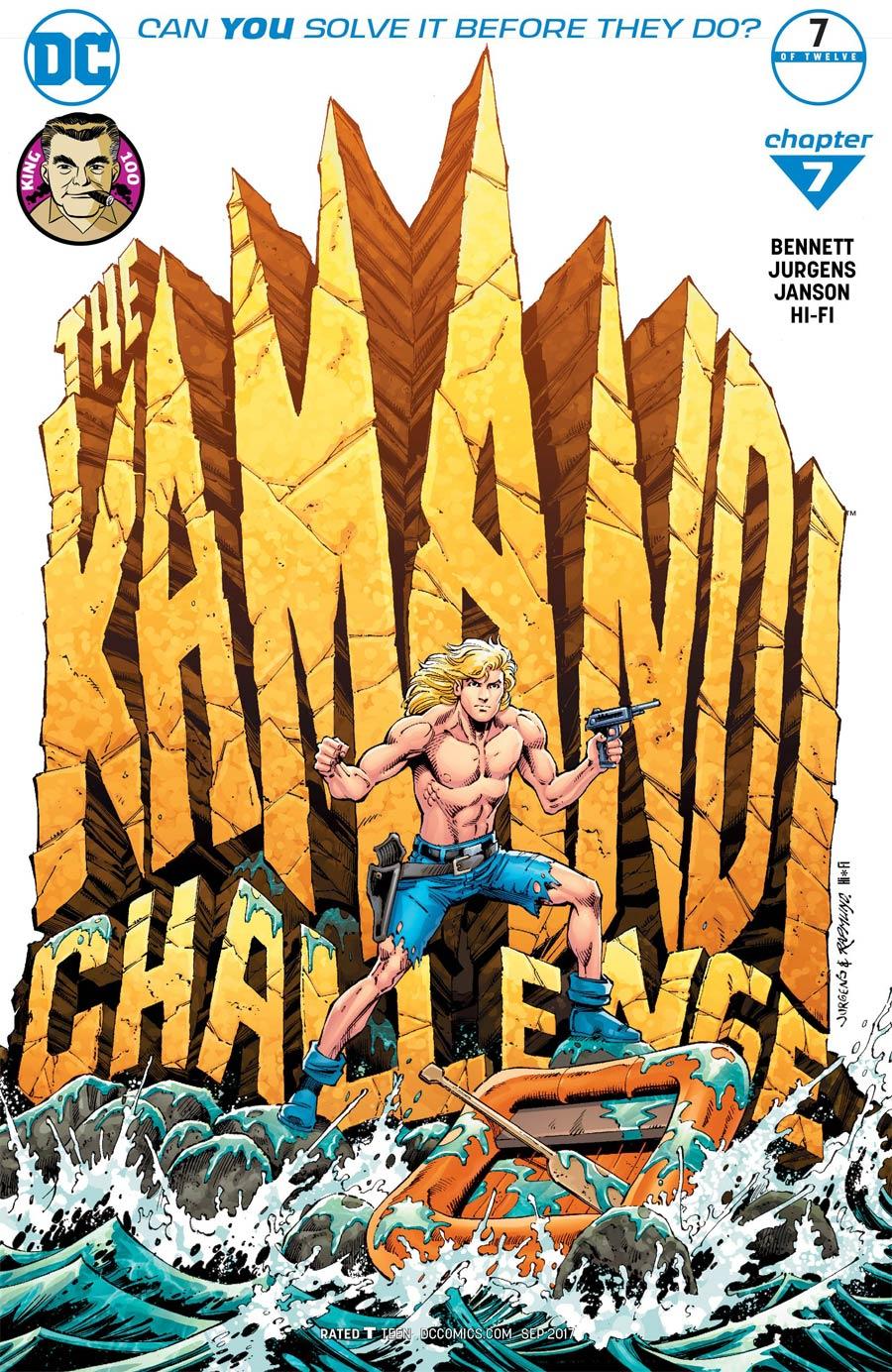 Kamandi Challenge #7 Cover B Variant Dan Jurgens & Klaus Janson Cover