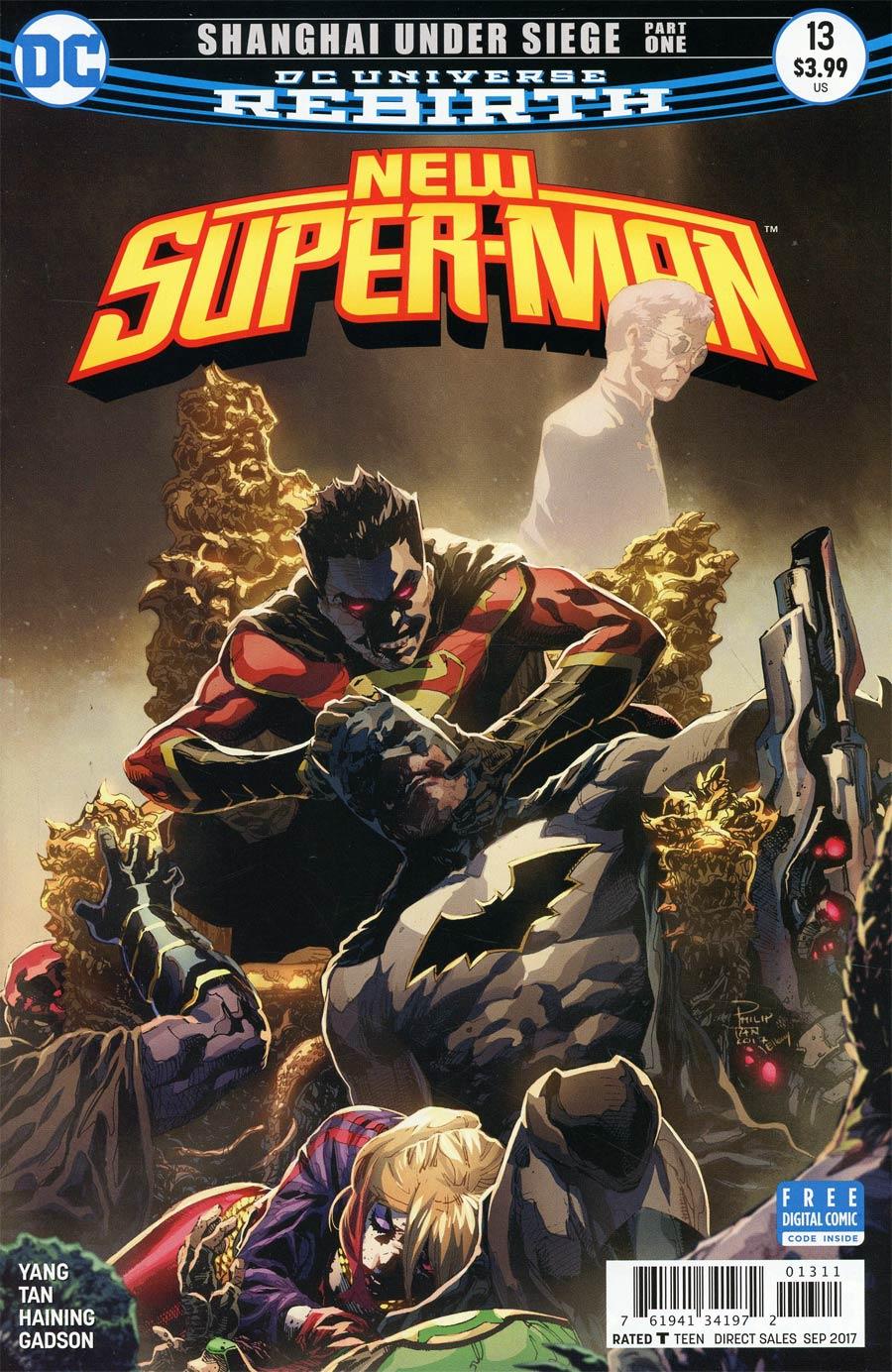New Super-Man #13 Cover A Regular Philip Tan Cover