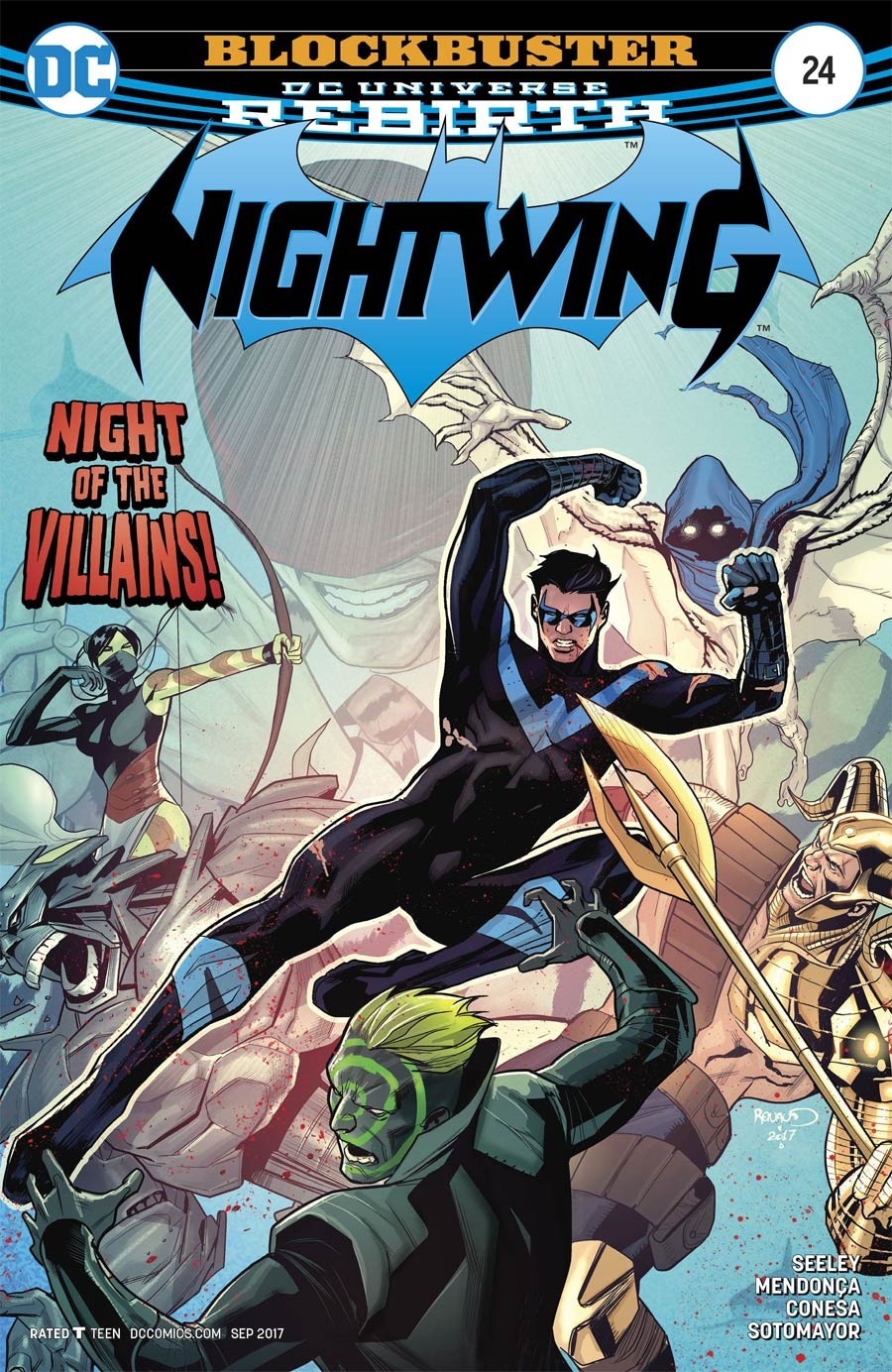 Nightwing Vol 4 #24 Cover A Regular Paul Renaud Cover