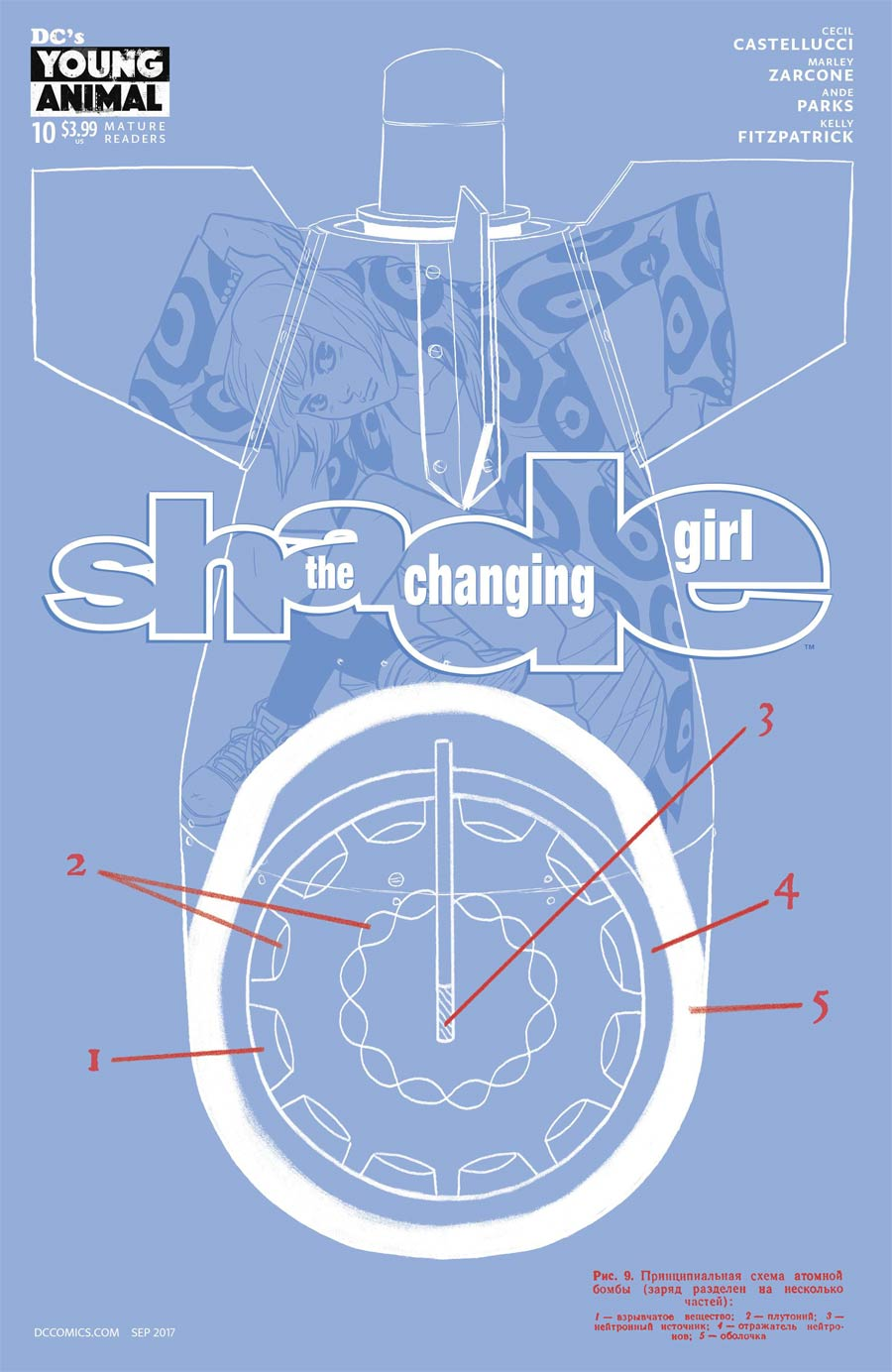 Shade The Changing Girl #10 Cover A Regular Becky Cloonan Cover