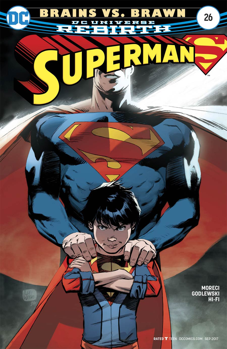 Superman Vol 5 #26 Cover A Regular Lee Weeks Cover