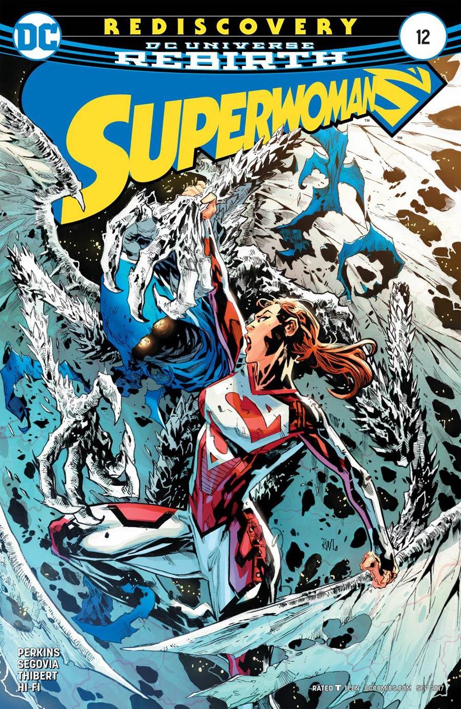 Superwoman #12 Cover A Regular Ken Lashley Cover