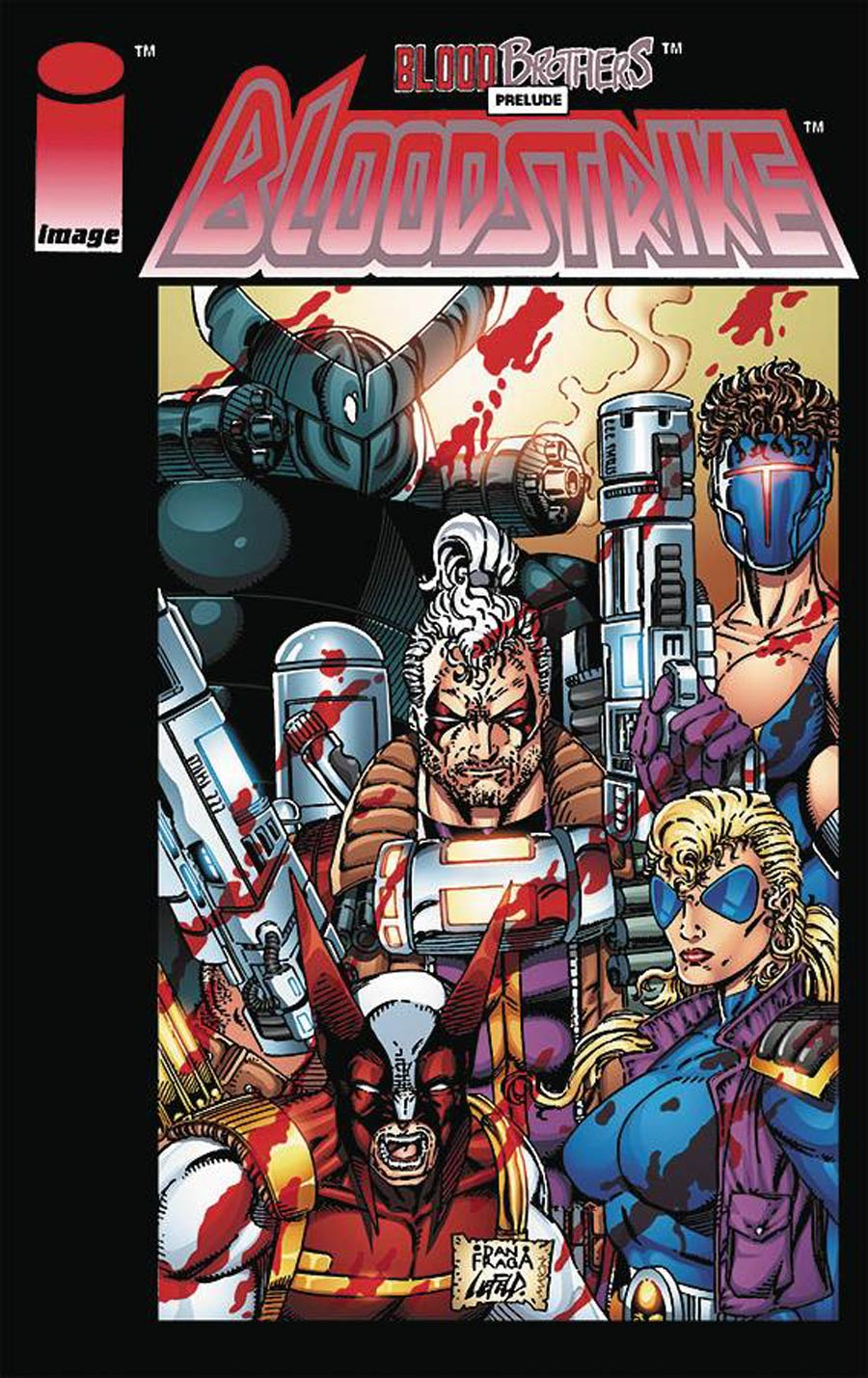 Bloodstrike Remastered Edition #1 Cover A Dan Fraga