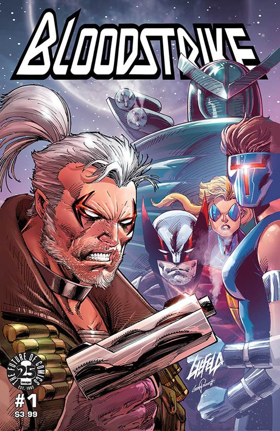 Bloodstrike Remastered Edition #1 Cover B Rob Liefeld