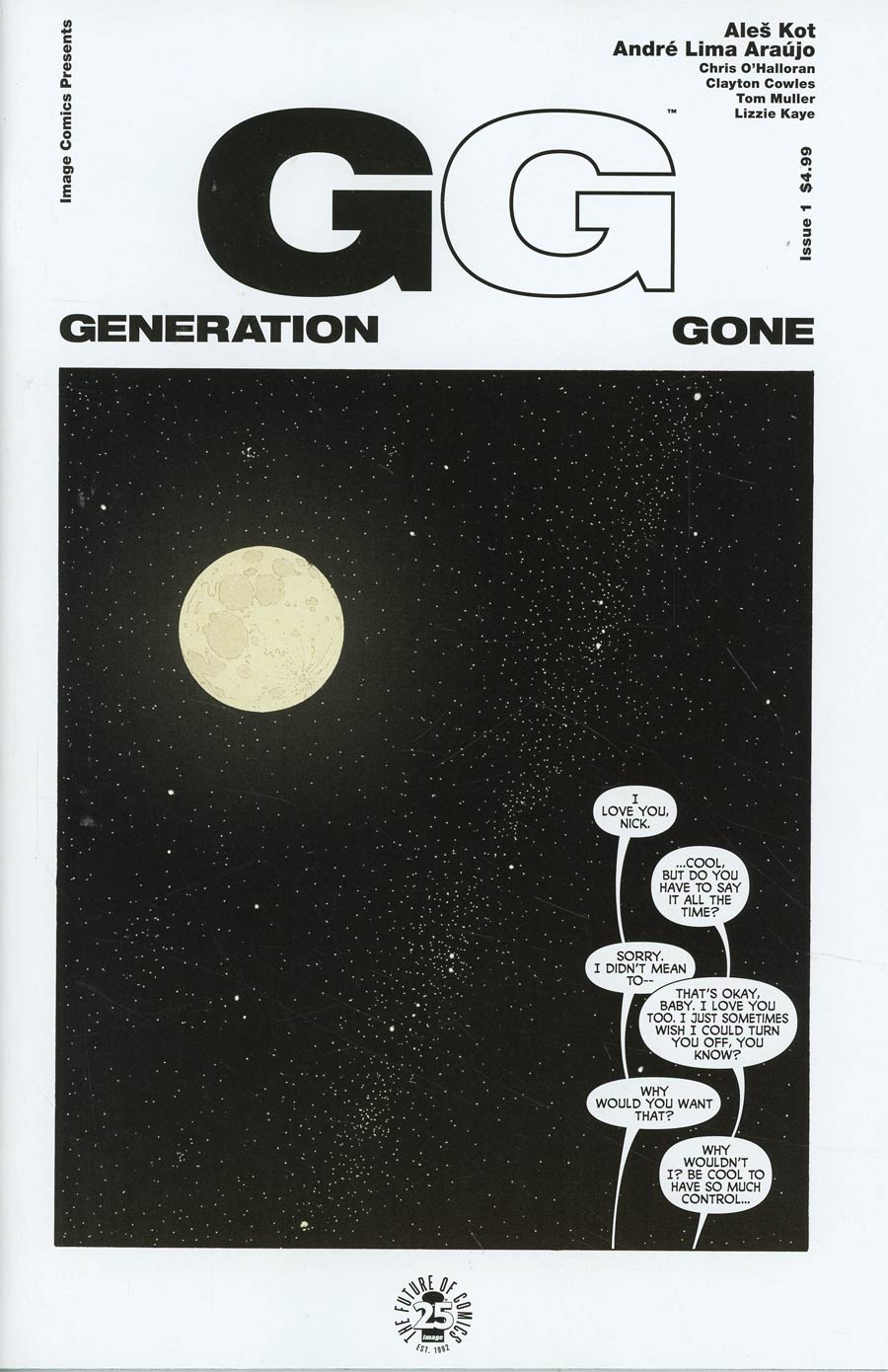Generation Gone #1 Cover A 1st Ptg Regular Andre Araujo & Chris OHalloran Cover