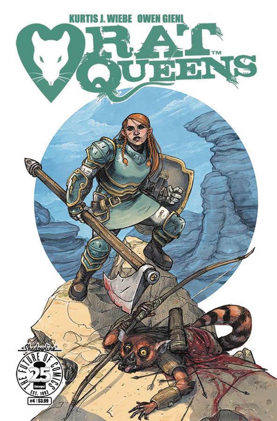 Rat Queens Vol 2 #4 Cover B Variant Owen Gieni Cover