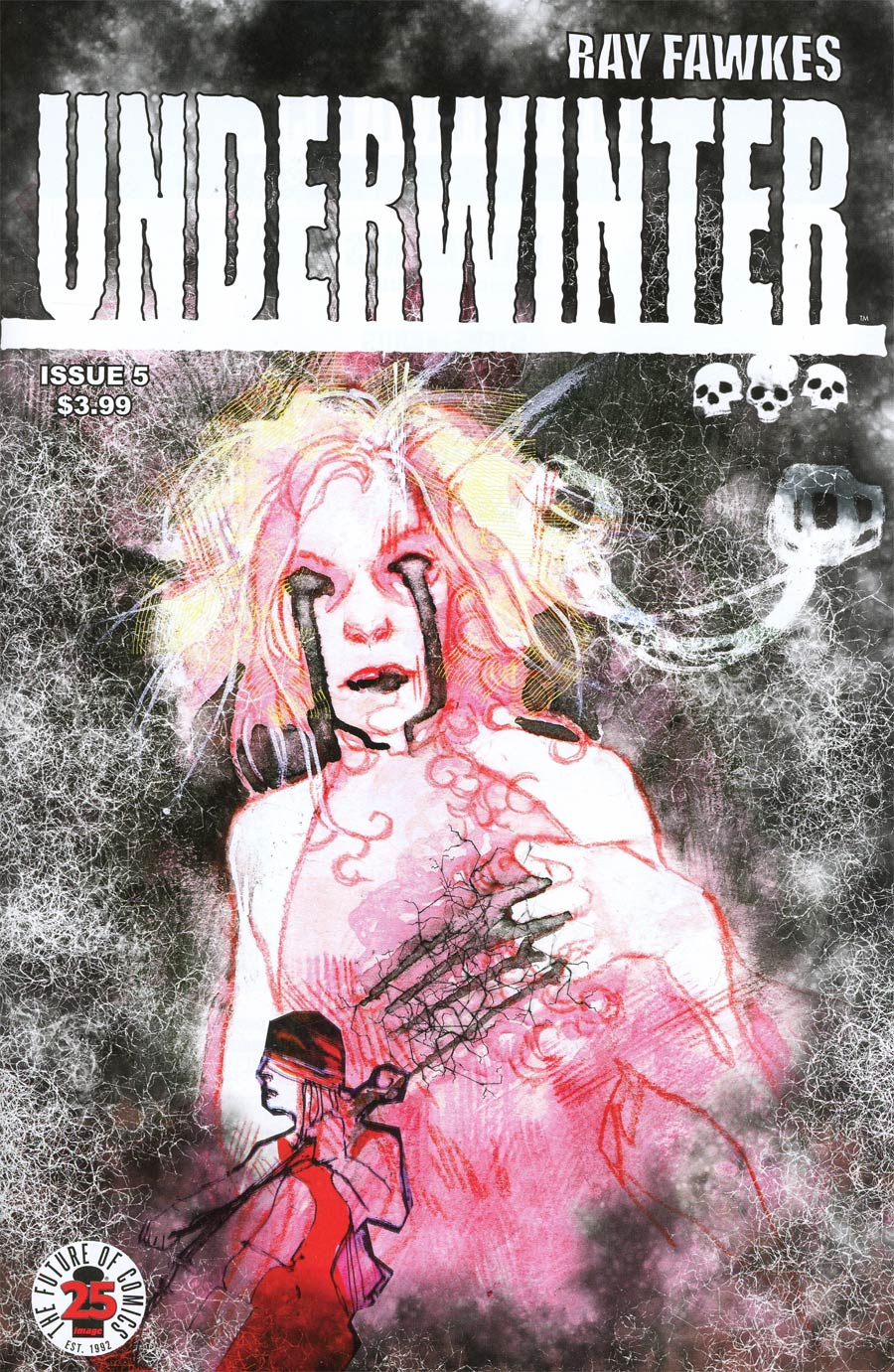 Underwinter #5 Cover A Regular Ray Fawkes Cover