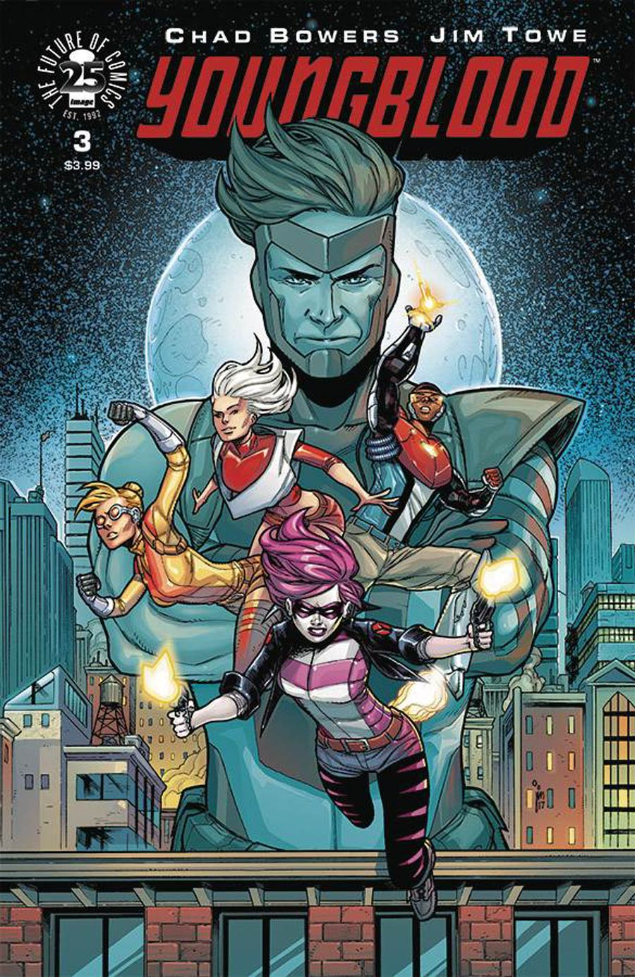 Youngblood Vol 5 #3 Cover A Jim Towe