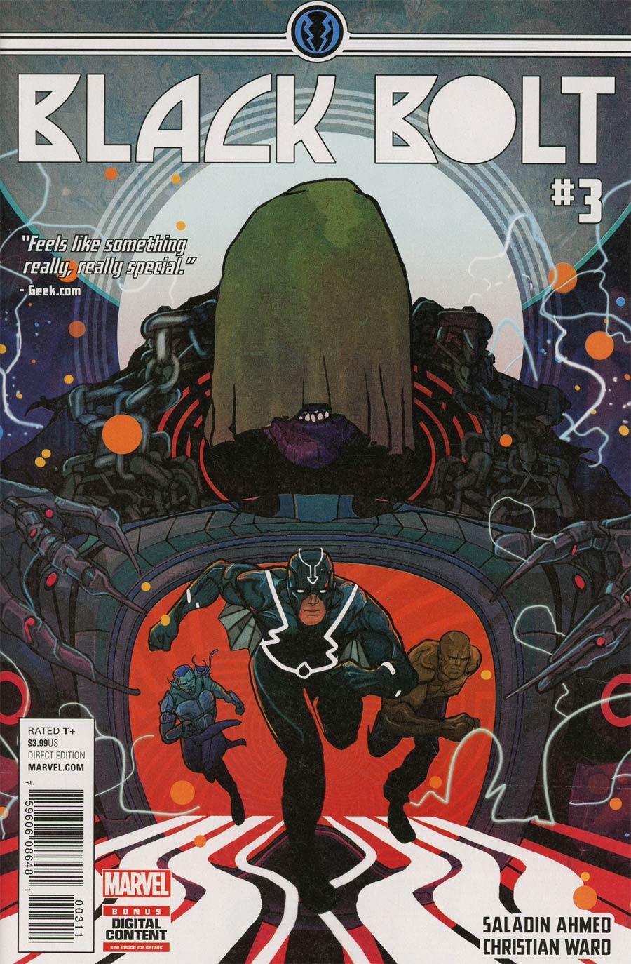Black Bolt #3 Cover A Regular Christian Ward Cover
