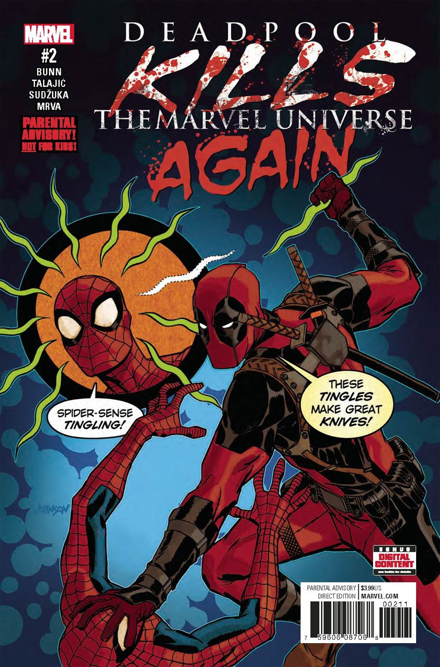 Deadpool Kills The Marvel Universe Again #2 Cover A Regular Dave Johnson Cover