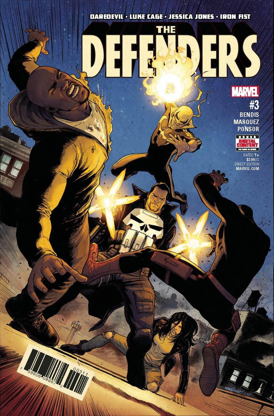 Defenders Vol 5 #3 Cover A Regular David Marquez Cover