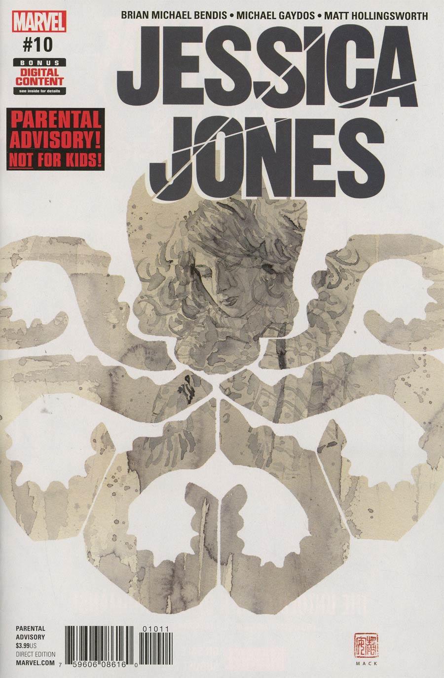 Jessica Jones #10 Cover A Regular David Mack Cover