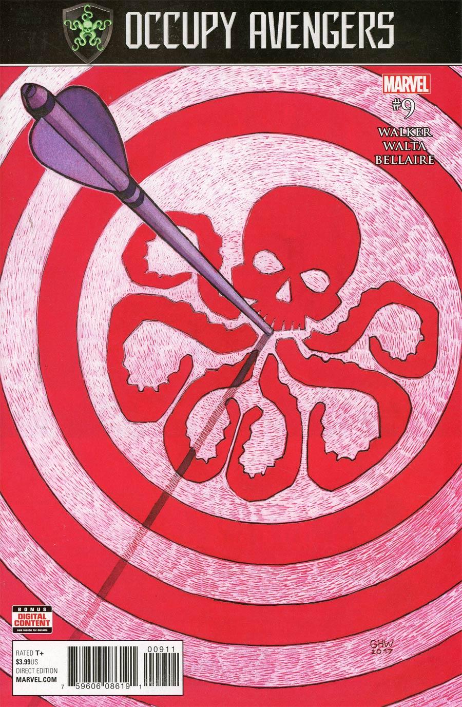 Occupy Avengers #9 (Secret Empire Tie-In)