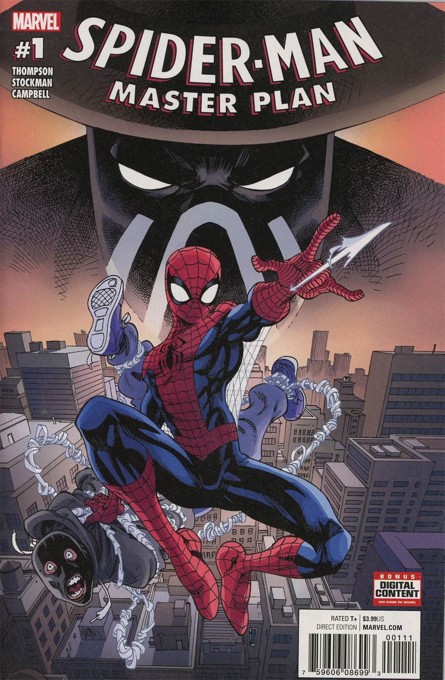Spider-Man Master Plan #1 Cover A Regular Nathan Stockman Cover