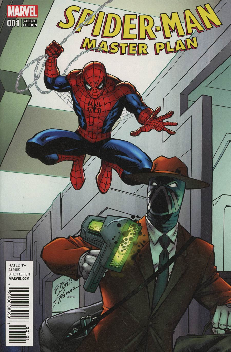 Spider-Man Master Plan #1 Cover B Variant Ron Lim Cover