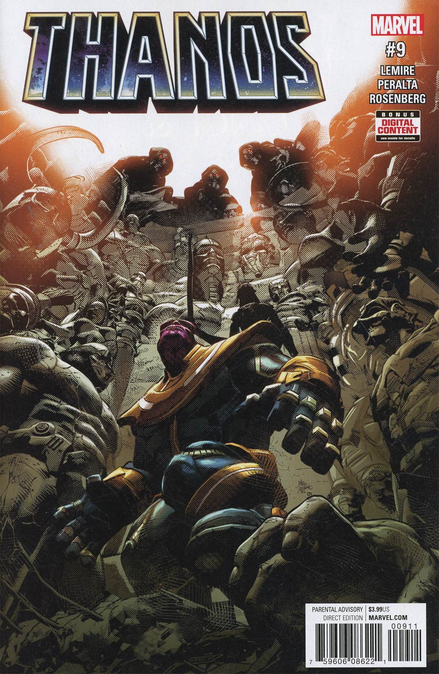 Thanos Vol 2 #9 Cover A Regular Mike Deodato Jr Cover