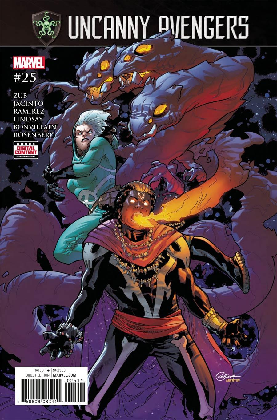 Uncanny Avengers Vol 3 #25 Cover A Regular RB Silva Cover (Secret Empire Tie-In)