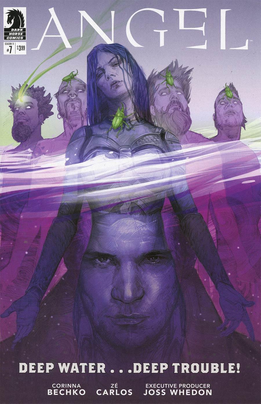 Angel Season 11 #7 Cover A Regular Scott Fischer Cover