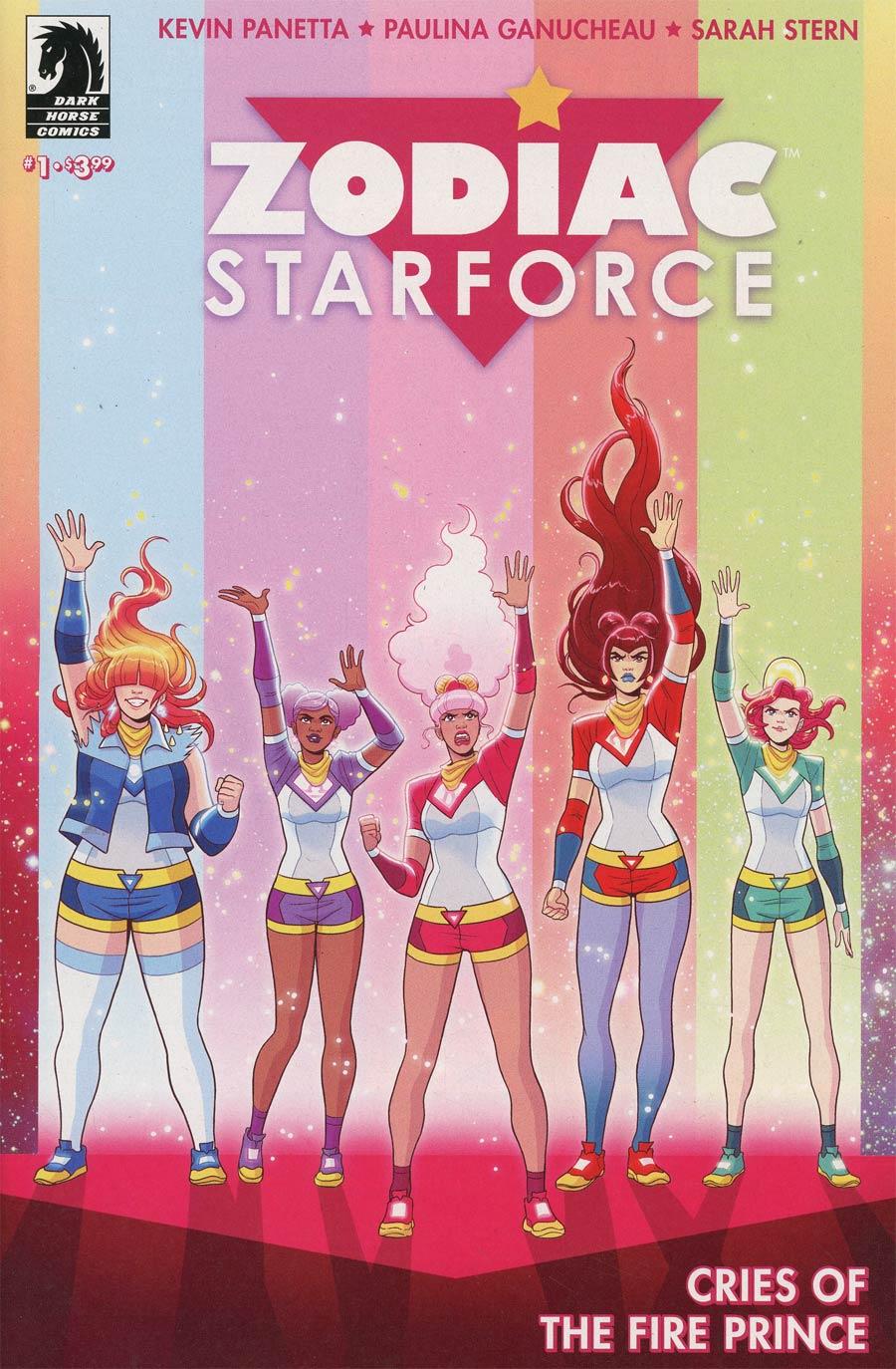 Zodiac Starforce Cries Of The Fire Prince #1 Cover A Regular Paulina Ganucheau Cover