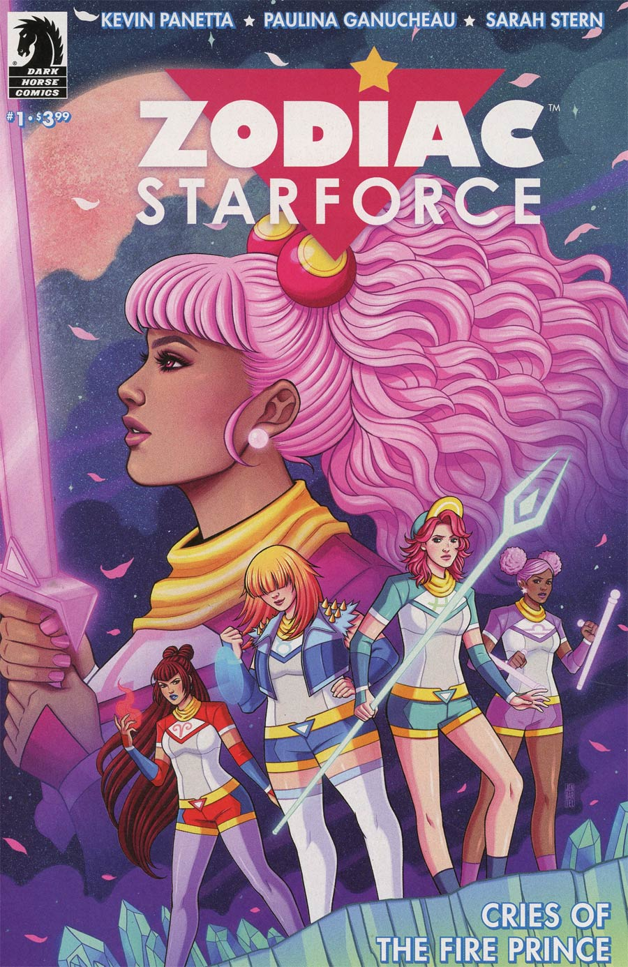 Zodiac Starforce Cries Of The Fire Prince #1 Cover B Variant Jen Bartel Cover