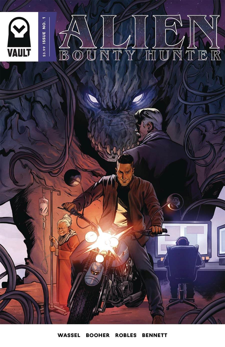 Alien Bounty Hunter #1 Cover A 1st Ptg
