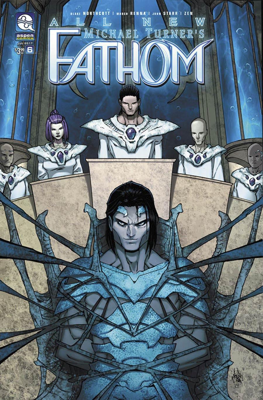 All New Fathom Vol 2 #6 Cover A Regular Marco Renna Cover