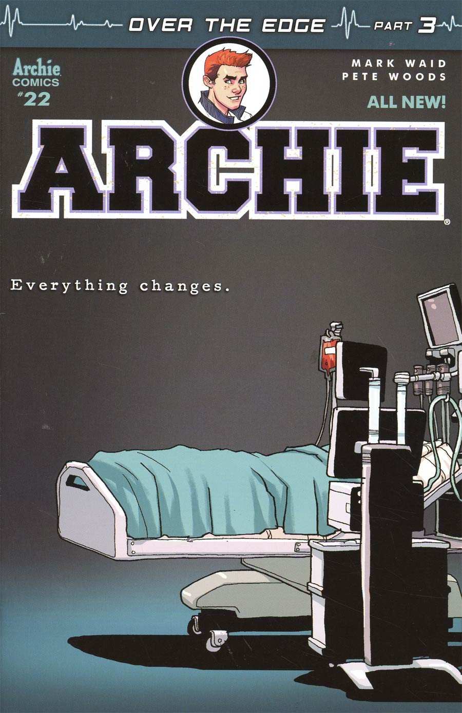 Archie Vol 2 #22 Cover A Regular Pete Woods Cover