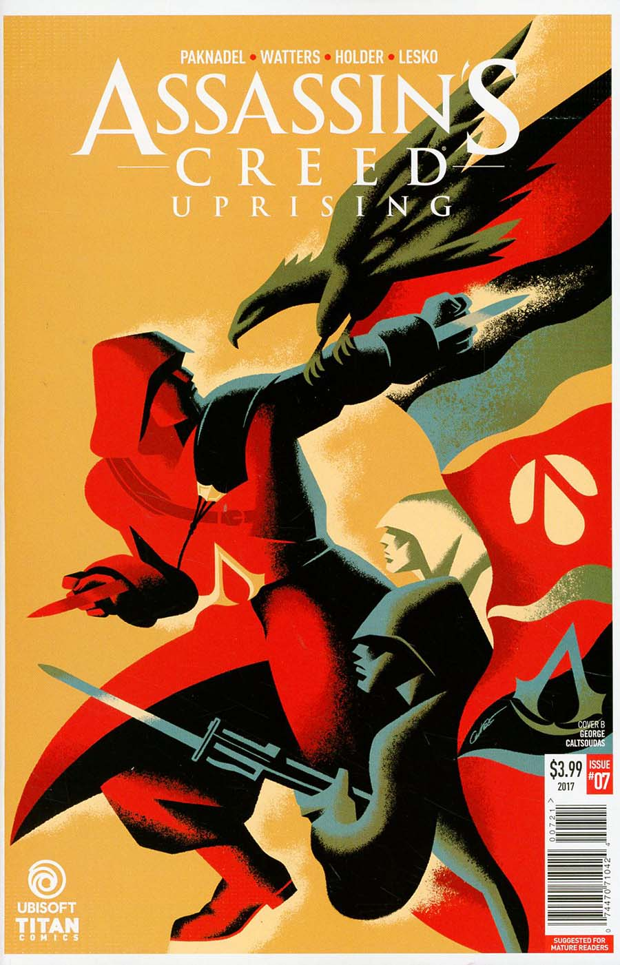 Assassins Creed Uprising #7 Cover A Regular Sunsetagain Cover