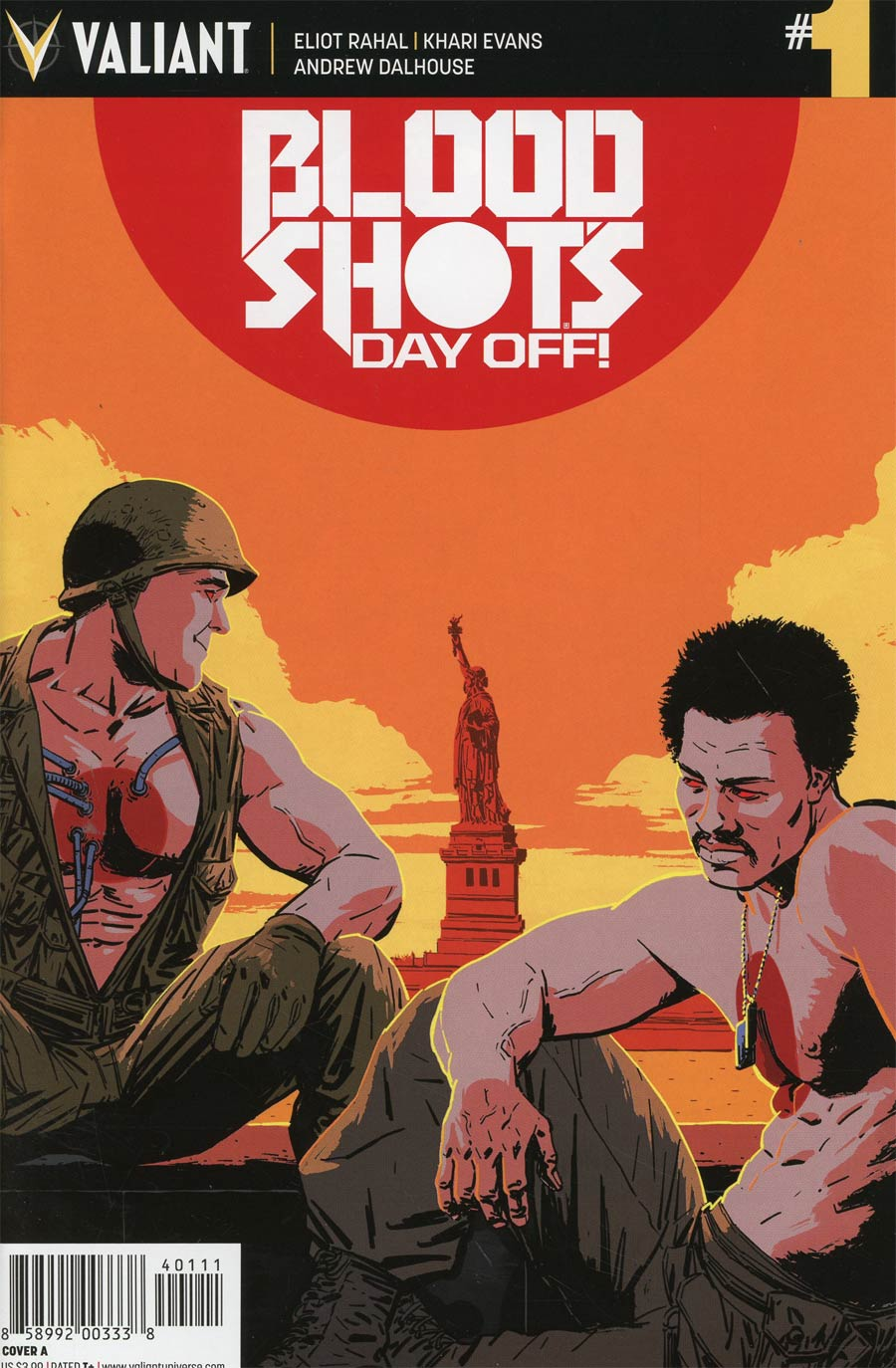 Bloodshots Day Off #1 Cover A Regular Kano Cover