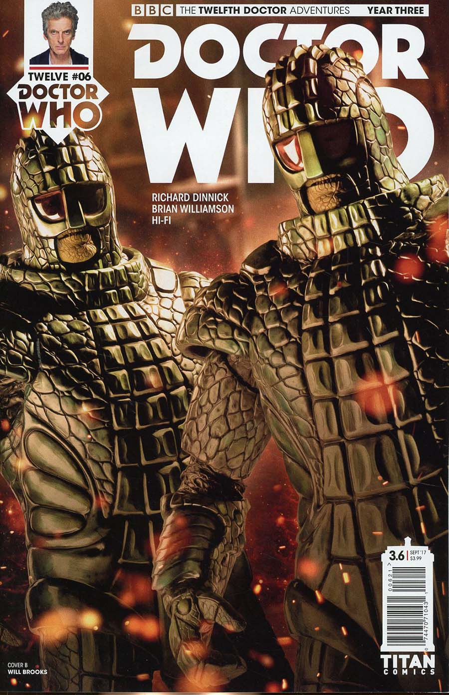 Doctor Who 12th Doctor Year Three #6 Cover B Variant Photo Cover