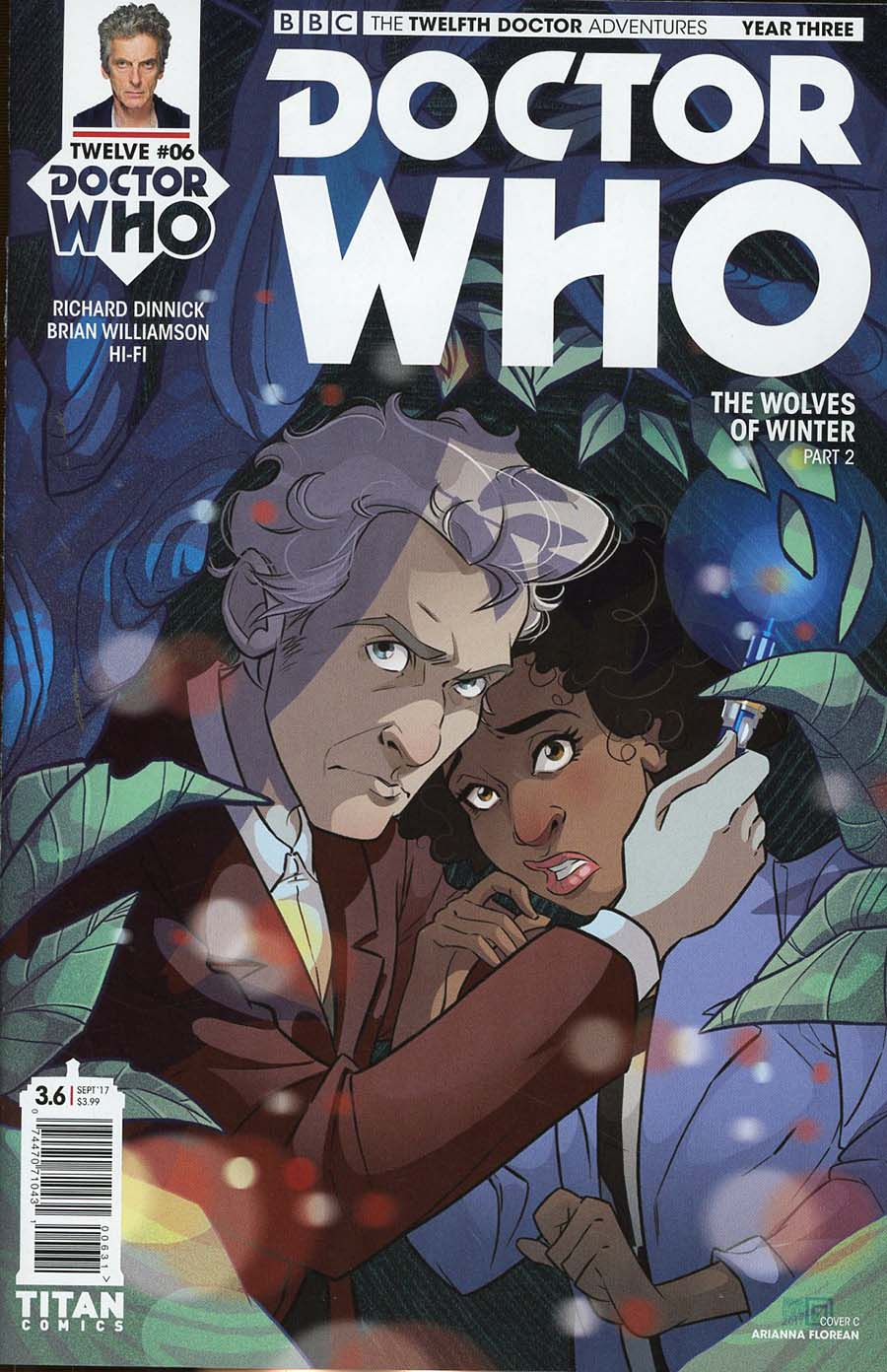 Doctor Who 12th Doctor Year Three #6 Cover C Variant Arianna Florean Cover