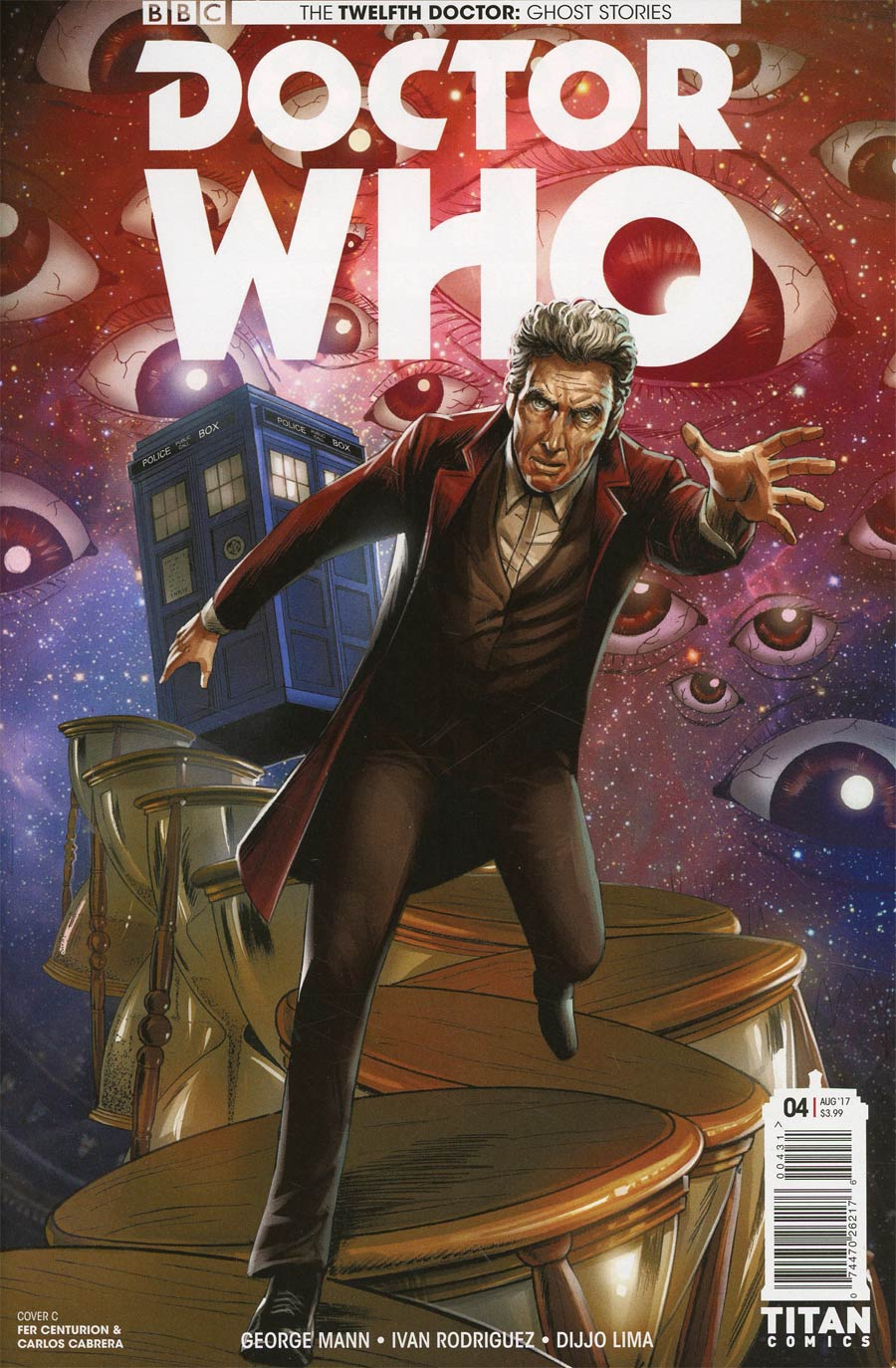 Doctor Who Ghost Stories #4 Cover C Variant Fer Centurion & Carlos Cabrera Cover