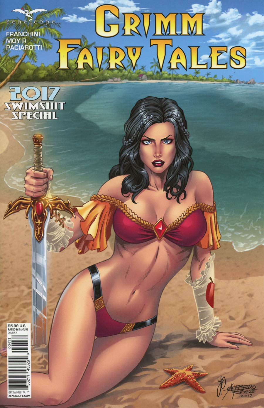 Grimm Fairy Tales Presents Swimsuit Special 2017 Cover A Alfredo Reyes