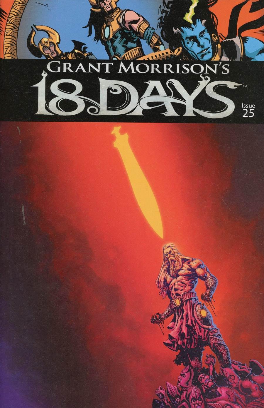 Grant Morrisons 18 Days #25 Cover A Regular Francesco Biagini Cover