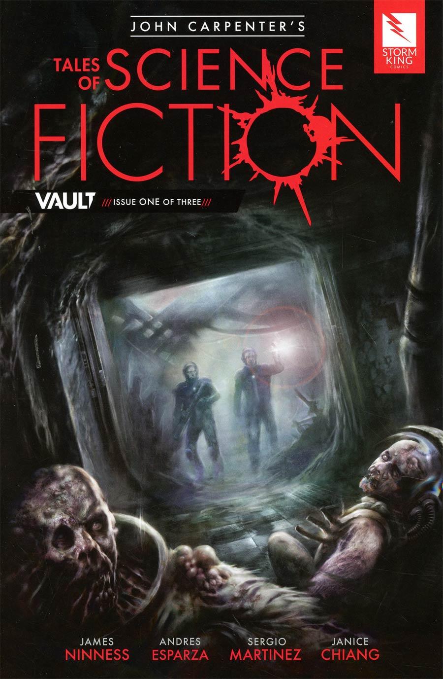 John Carpenters Tales Of Science Fiction Vault #1