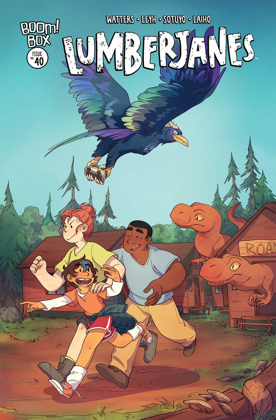Lumberjanes #40 Cover B Variant Ayme Sotuyo Subscription Cover