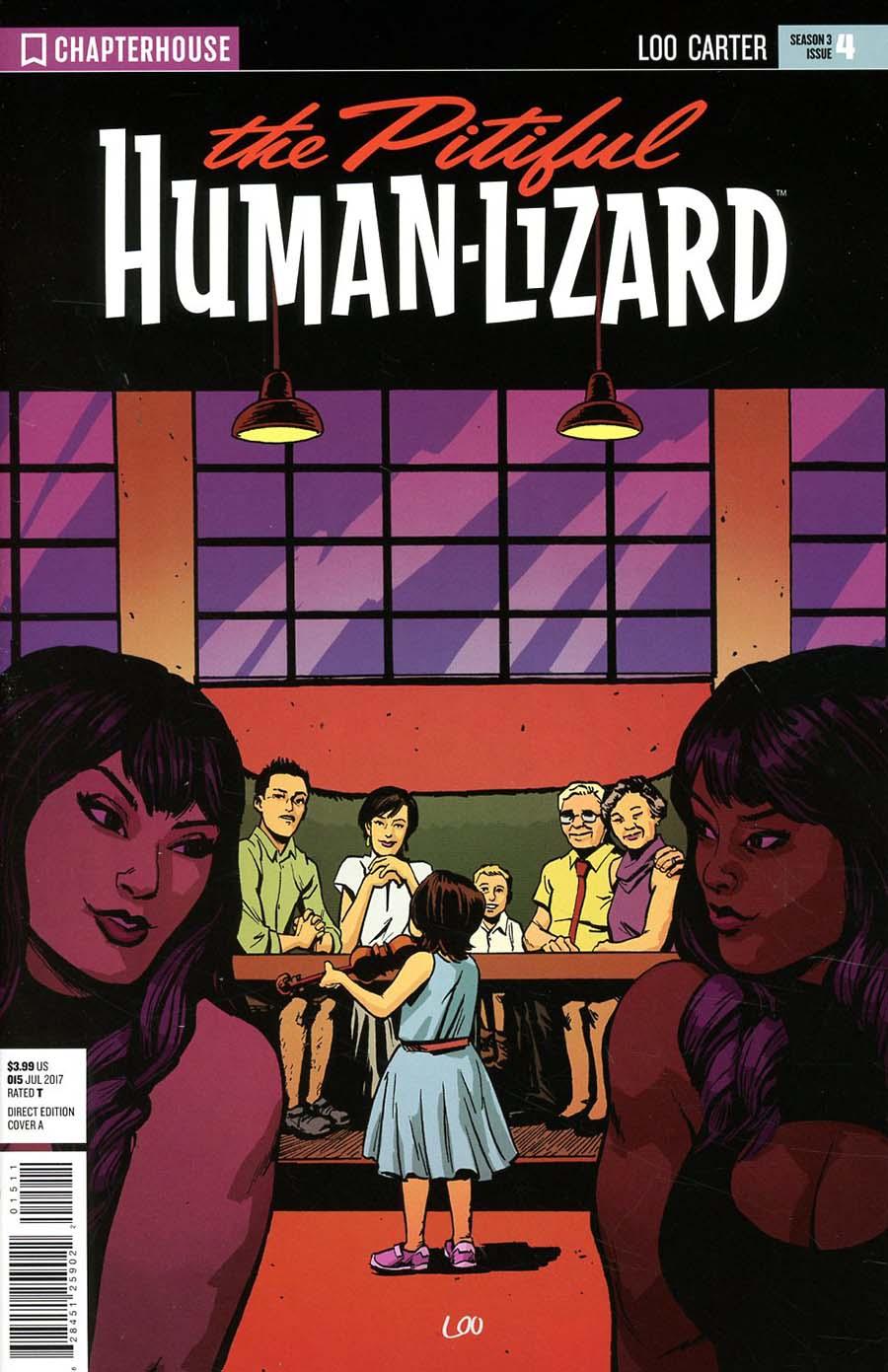 Pitiful Human-Lizard #15