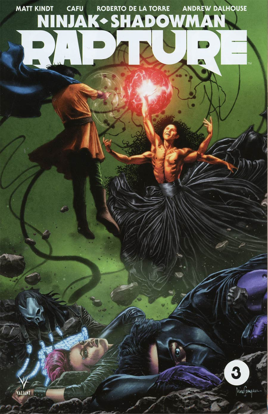 Rapture (Valiant Entertainment) #3 Cover A 1st Ptg Regular Mico Suayan Cover