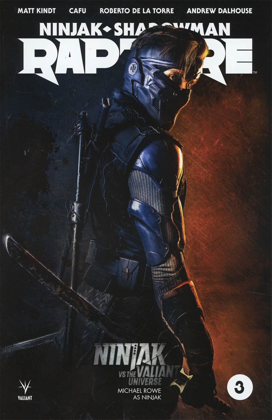 Rapture (Valiant Entertainment) #3 Cover C Variant Ninjak vs The Valiant Universe Cover